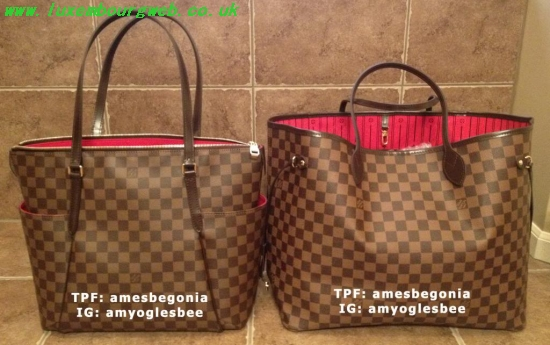 Louis Vuitton Neverfull Mm Vs Gm Buylouisvuittonuk Ru