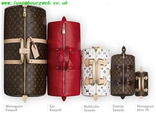 Louis Vuitton Speedy Sizes