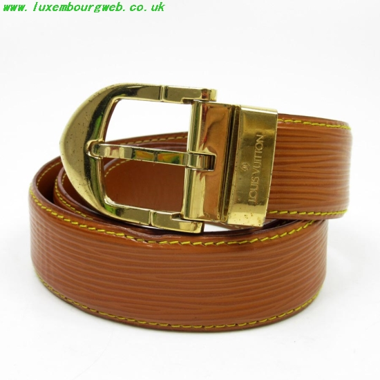 Louis Vuitton Belt Brown And Gold