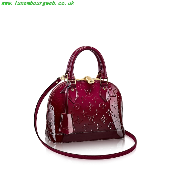 Louis Vuitton Alma Bb Vernis