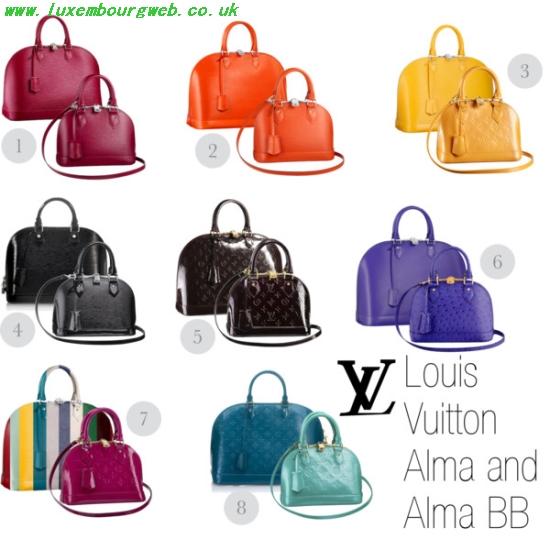 Alma Louis Vuitton Sizes